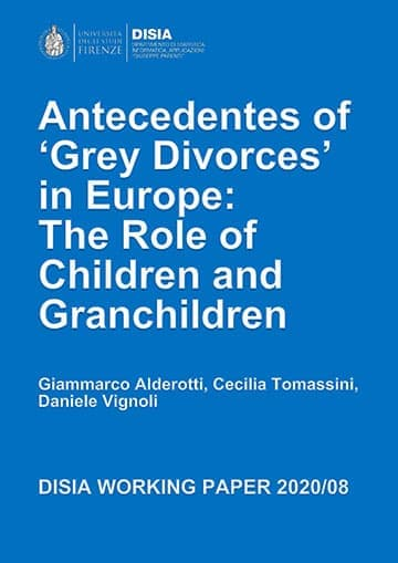 Antecedentes of Grey Divorces in Europe: The Role of Children and Granchildren